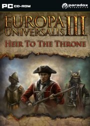 Car�tula oficial de Europa Universalis III: Heir to the Throne PC