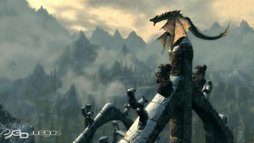 The Elder Scrolls V Skyrim - Primer contacto