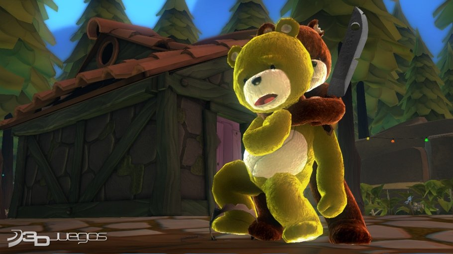 Naughty Bear - Impresiones