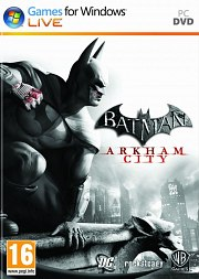 Cartula oficial de Batman: Arkham City PC