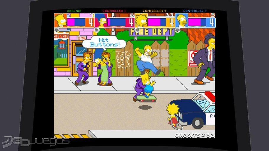 Los Simpsons Arcade - An�lisis