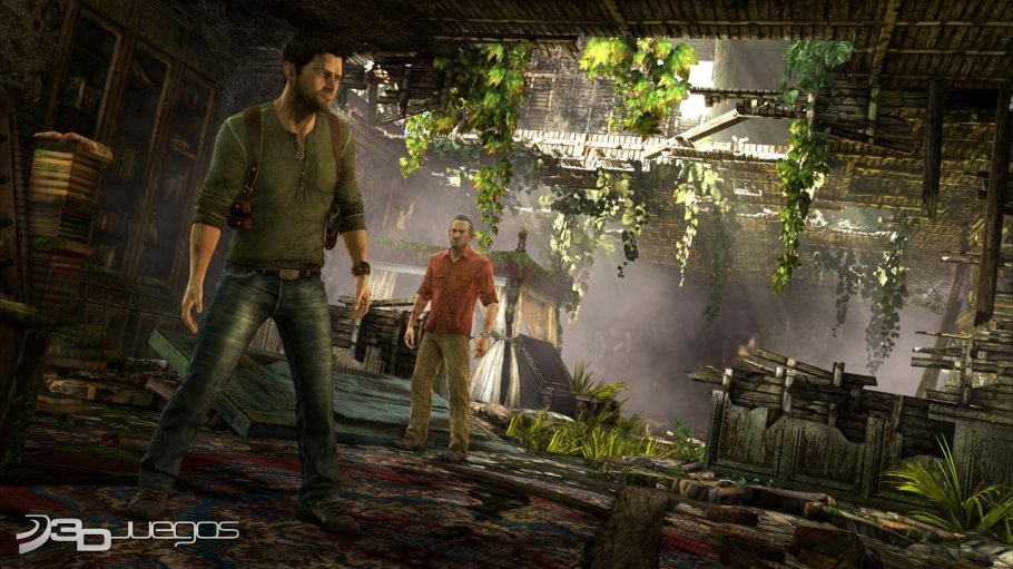 Uncharted 3 Drake's Deception - Primer contacto
