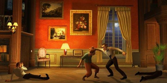 Las Aventuras de Tintín: Primer contacto