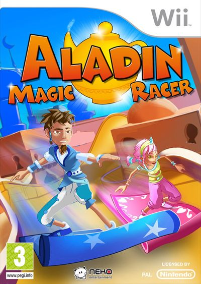 Car�tula de Aladin Magic Racer