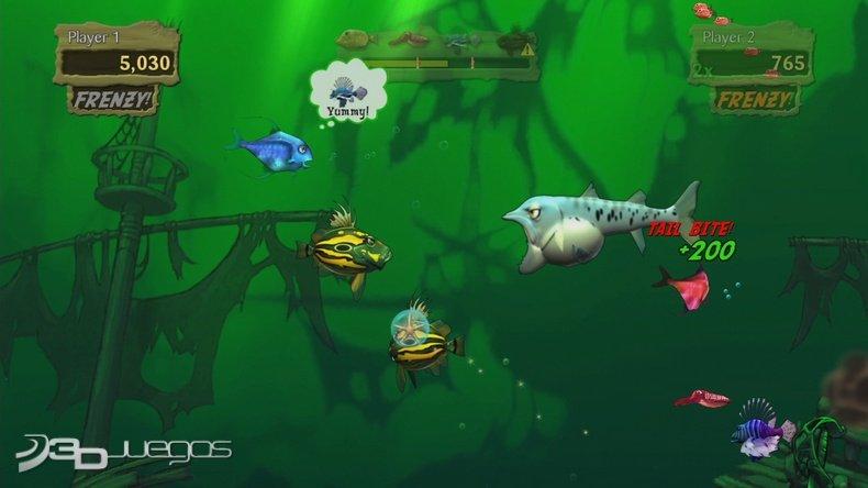 Feeding Frenzy 2: Shipwreck Showdown. кадры из игры.
