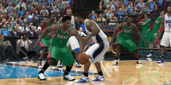 NBA Elite 11: Primer contacto