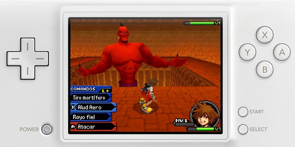 Kingdom Hearts Re: Coded DS