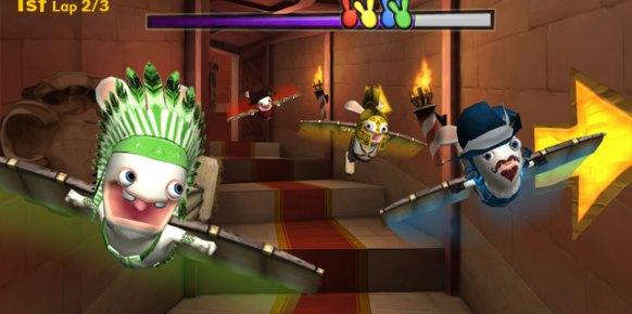Raving Rabbids Regreso al Pasado (Nintendo Wii)