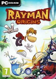 Car�tula oficial de Rayman Origins PC