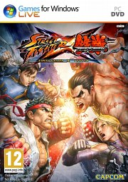 Cartula oficial de Street Fighter X Tekken PC