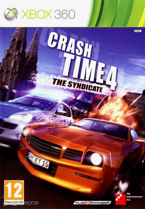 Crash Time 4 The Syndicate RIP-PROPIO 1,23GB RGH-JTAG PL-UL