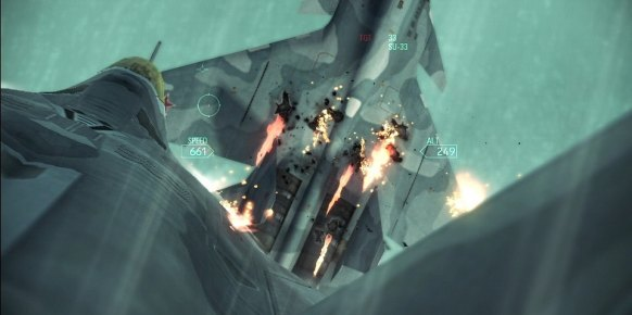 Ace Combat Assault Horizon: Primer contacto