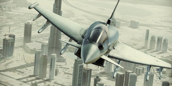 Ace Combat Assault Horizon: Impresiones Level Up