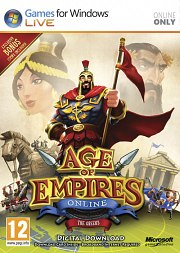 Car�tula oficial de Age of Empires Online PC