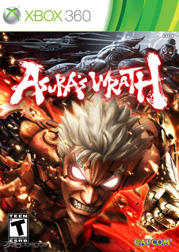 Asura's Wrath RIP-PROPIO RGH-JTAG PL-UL