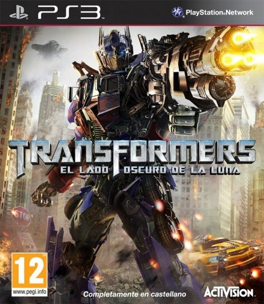 Car�tula de Transformers: Dark of the Moon