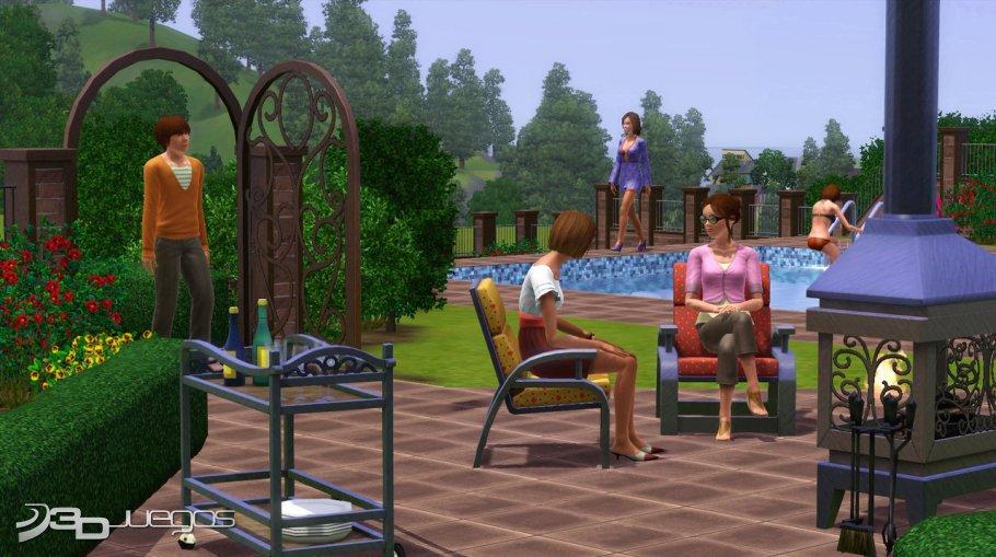 los sims 3 patios y jardines accesorios para pc 3djuegos