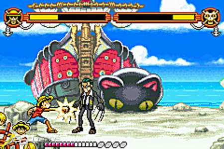 One piece grand battle para gba 3djuegos for One piece juego