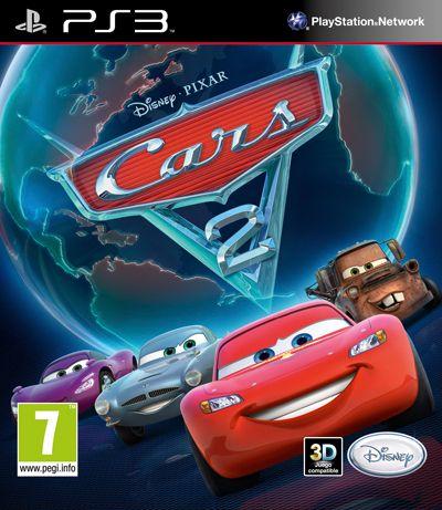 Pixar Cars Game Ps