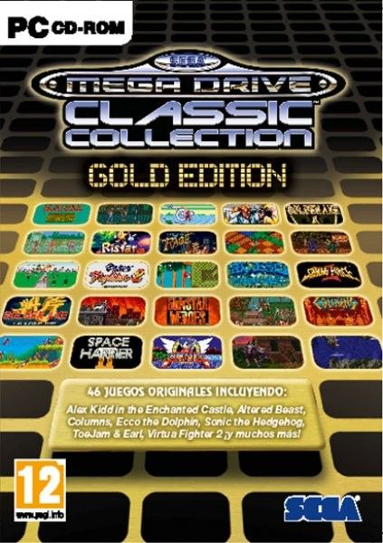 Sega Mega Drive: Classic Collection – Gold Edition Full-1CD-Pc Ingles DF