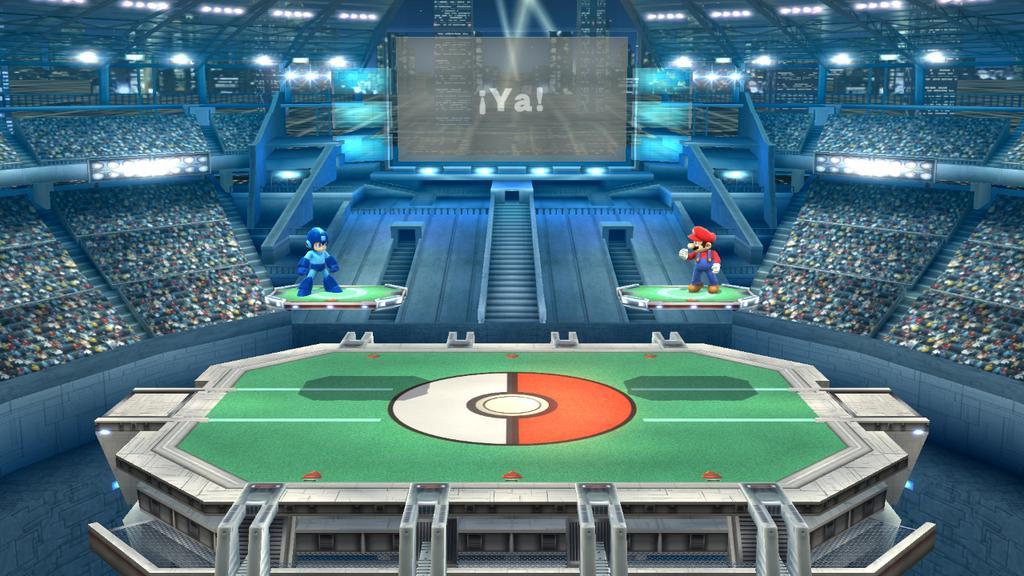 Pokemon Stadium Background Guía Super Smash ...