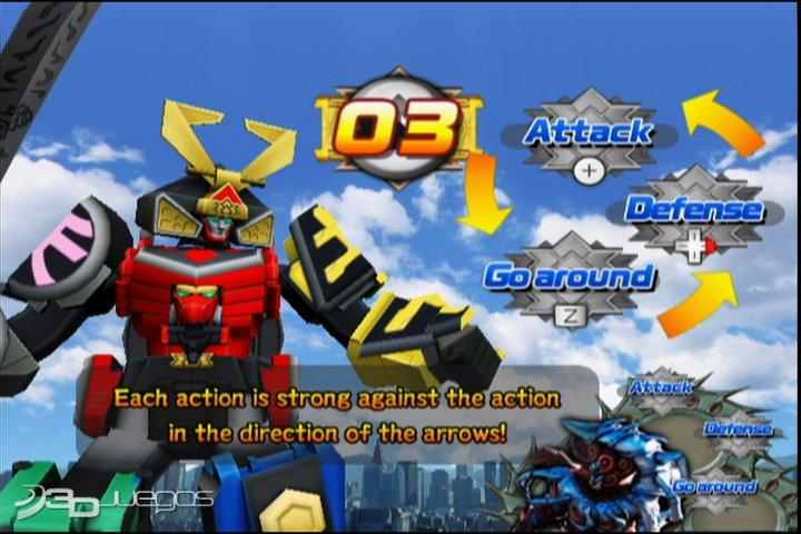 Imgenes de Power Rangers Samurai para Wii  3DJuegos