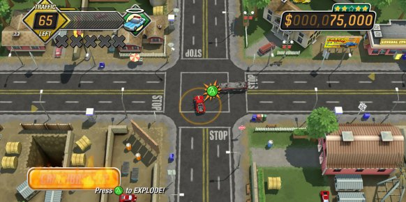 Burnout Crash! an�lisis