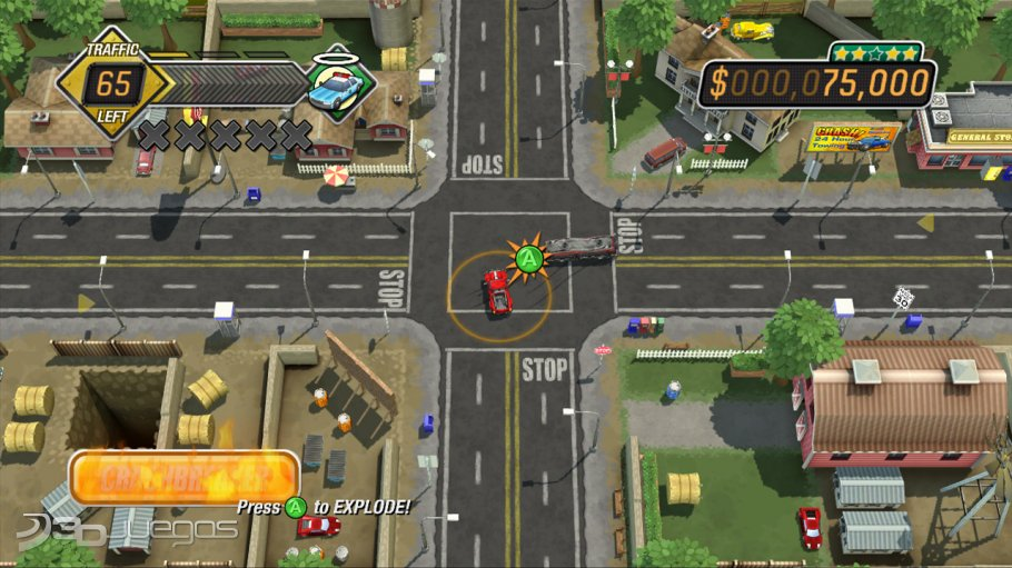 Burnout Crash! - An�lisis