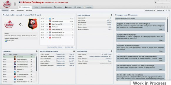 Football manager 2012: Impresiones jugables