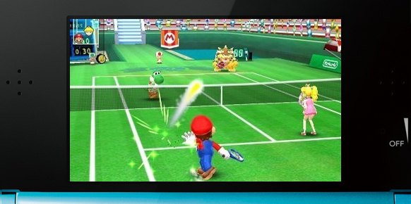 Mario Tennis Open (3DS)