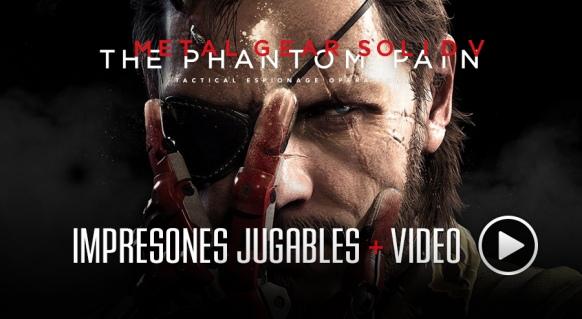 Art�culo de Metal Gear Solid V: The Phantom Pain