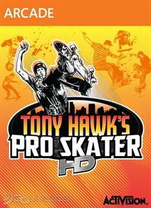 Cartula de Tony Hawk&#39;s Pro Skater HD
