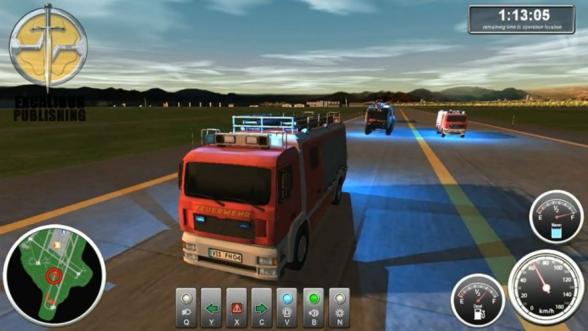 "Vídeo Airport Firefighter Simulator: ""Trailer oficial"" - 3DJuegos"