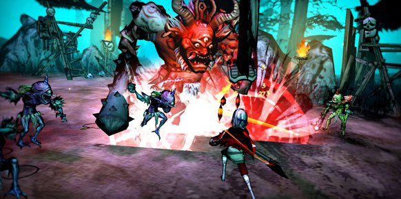 Akaneiro Demon Hunters an�lisis