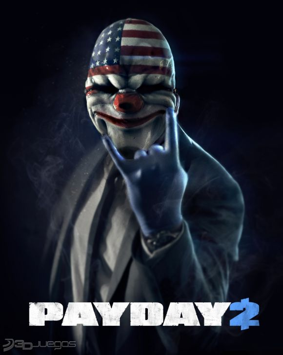 Carátula de Payday 2