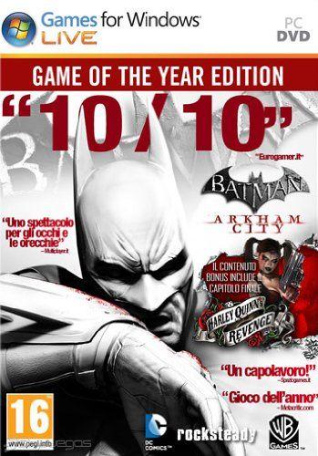 Arkham City Game of the Year Edition - Batman - Ключи активации - Миззл.