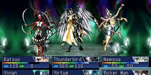 Devil Summoner Soul Hackers (Nintendo 3DS)