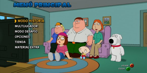 Family Guy Back to the Multiverse an�lisis