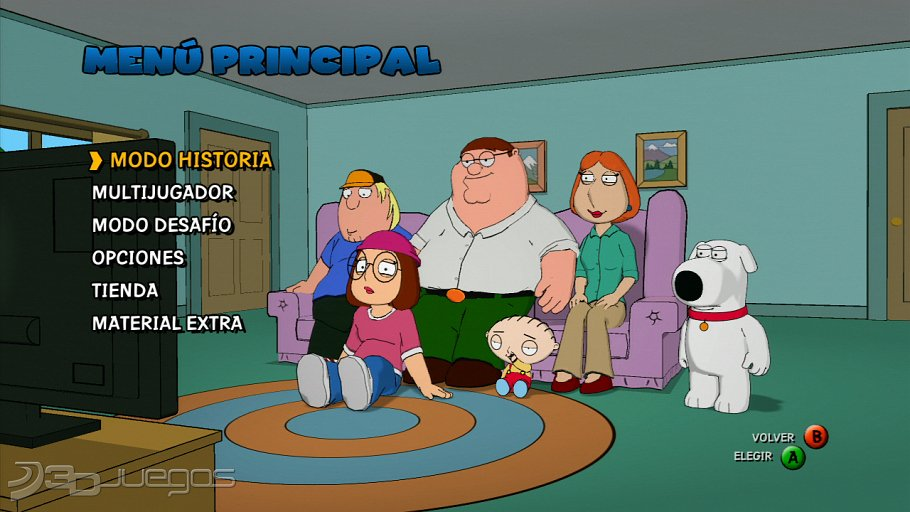 Family Guy Back to the Multiverse - An�lisis