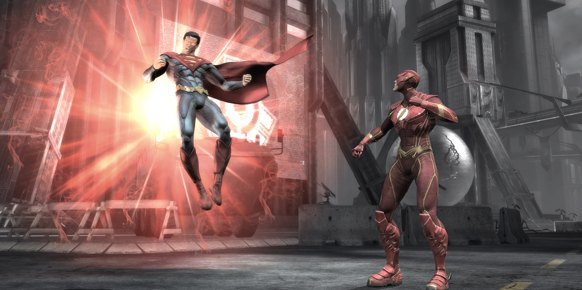 Injustice Gods Among Us Xbox 360