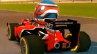 Video F1 Race Stars, Gameplay Trailer