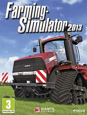 Cartula oficial de Farming Simulator 2013 PC