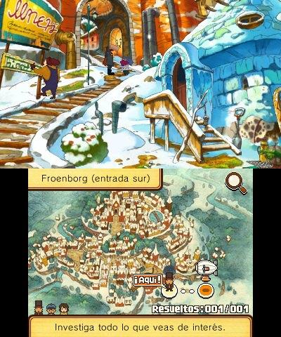 Profesor Layton y el Legado Ashalanti (3DS)