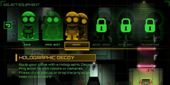 Stealth Inc: A Clone in the Dark Vita