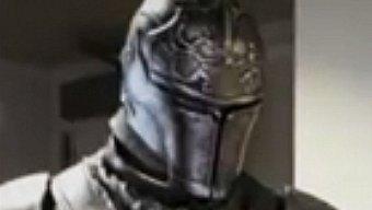 Video Dark Souls II, Warrior Knight Life-Size Statue Unboxing