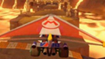 Video Mario Kart 8, 200cc - Volcán Gruñón