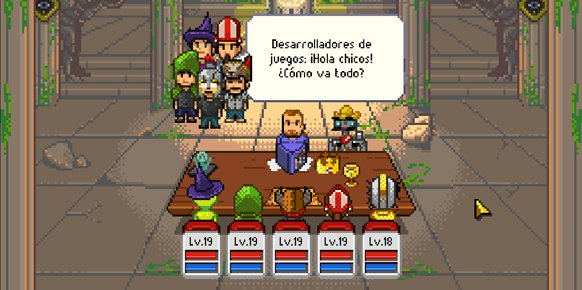 Knights of Pen and Paper (PC)
