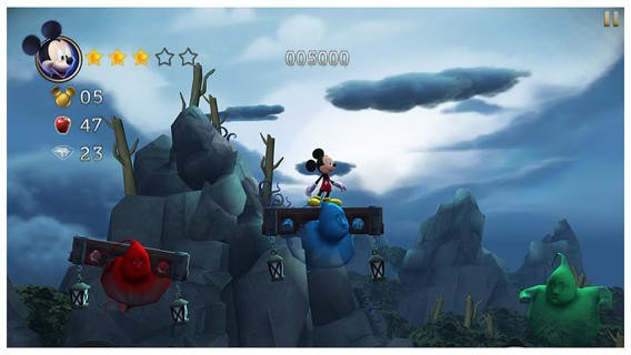 Castle of illusion (iPhone)