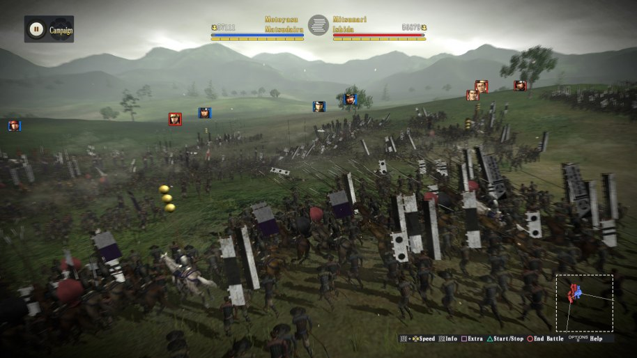 Nobunagas Ambition Sphere of Influence PS3