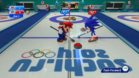 Mario y Sonic JJ.OO 2014 an�lisis